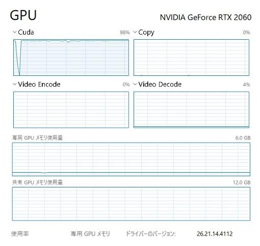 GPU負荷