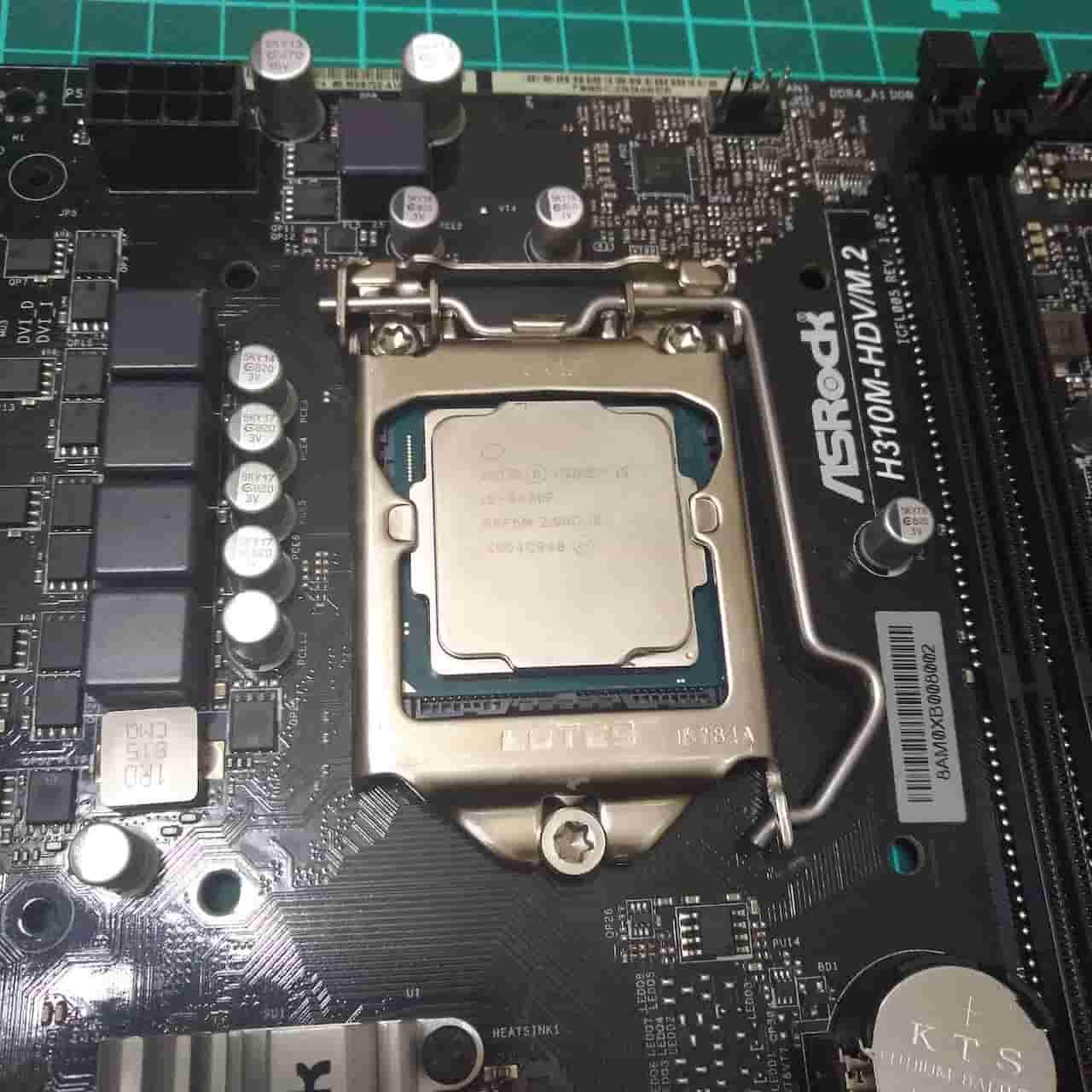CPUを取り付ける 完成
