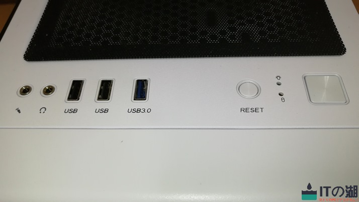 s100tg front interface